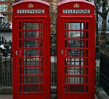 London Red Phone Box by Craig Wilson