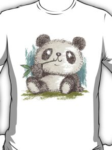 Panda that is eating bamboo T-Shirt