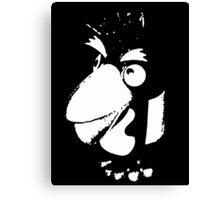 Pesky penguin Canvas Print
