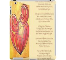 A Canvas Of My Love, My Heart, My Wife Greeting Card iPad Case/Skin