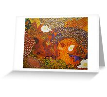 Dreamtime Breakfast - Colours of the Outback Greeting Card