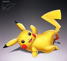 Pikachu by hybridmink