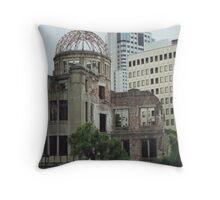 Hiroshima 2000 Throw Pillow