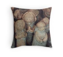 Figurines 1 Throw Pillow