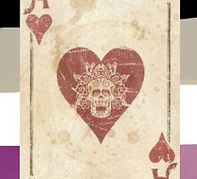Ace of hearts by Somione