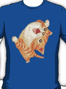 Tabby to look up at T-Shirt