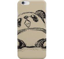 Panda sketch iPhone Case/Skin