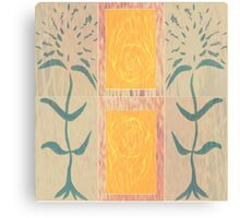 Well Flowered Canvas Print
