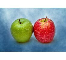 Green And Red Apples Photographic Print