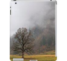 Winter in green iPad Case/Skin