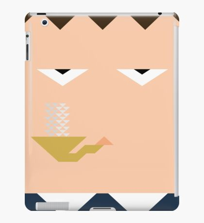 Minimal Sherlock iPad Case/Skin