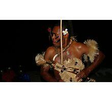 Fiji Warrior Photographic Print