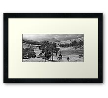 Towards Mount Warning, NSW, Australia Framed Print