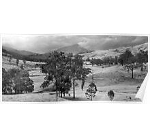 Towards Mount Warning, NSW, Australia Poster