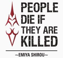 People Die if They are Killed!  by Yakei