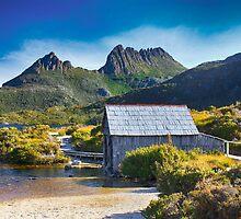Boat House, Dove Lake, Tasmania by bidkev1