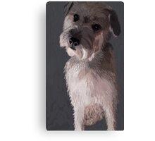 Wheaten Terrier Art Canvas Print
