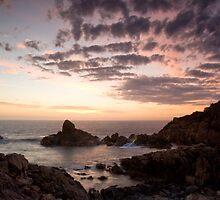 Canal Rocks Sunset by Chris Putnam