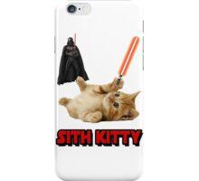 SITH KITTY - STAR WARS iPhone Case/Skin