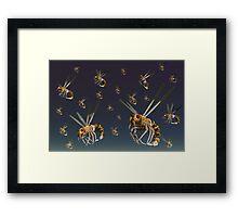 Technologies New Hive Framed Print