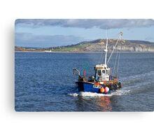 Slippery Dick ~ Lyme Regis Metal Print