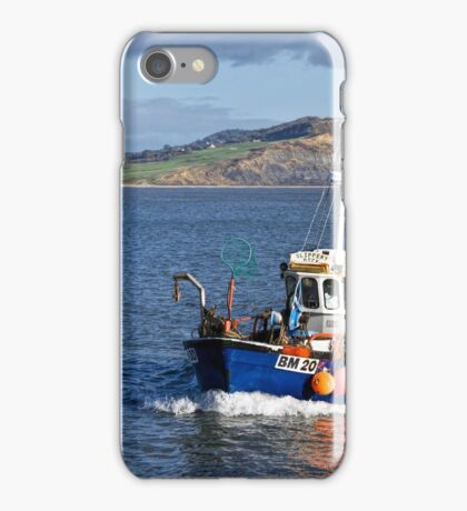 Slippery Dick ~ Lyme Regis iPhone Case/Skin