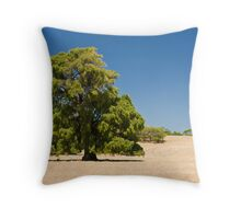 Lushness in Starkness Throw Pillow