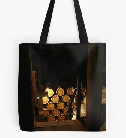 Wine Barrels Tote Bag
