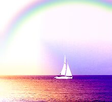 Sail Away - For Mel by Angela Harburn