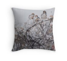 Chattering Throw Pillow