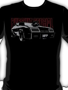 Mad Max Inspired Pursuit Special   Grey - Red T-Shirt