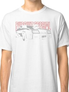 Mad Max Inspired Pursuit Special | Grey - Red Classic T-Shirt