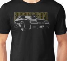 Mad Max Inspired Pursuit Special | Grey - Yellow Unisex T-Shirt