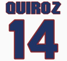 National baseball player Guillermo Quiroz jersey 14 by imsport