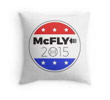 Vote Marty!  Save the Clock Tower! Throw Pillow