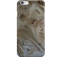 Ravages of Time - the Faded Beauty of an Elegant Church on Capri Island  iPhone Case/Skin