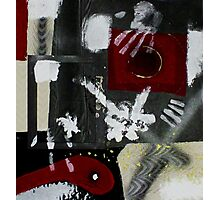 Blood and Bone #2 (Mixed Material Assemblage)- Photographic Print