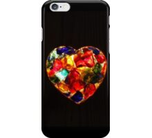 Stained Glass Heart iPhone Case/Skin