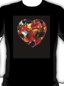 Stained Glass Heart T-Shirt