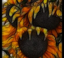 Fractal Sunflowers by Rpnzle