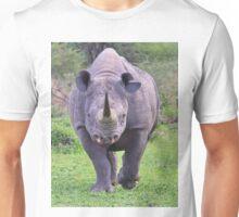 Black Rhino Bull - Powerful Me Unisex T-Shirt