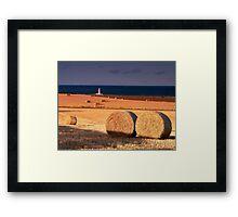 Barns Ness Lighthouse Framed Print