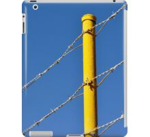 Yellow on Blue iPad Case/Skin