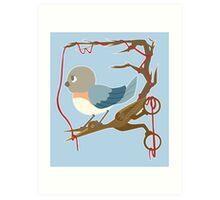 Twenty Birds with One Stone Art Print