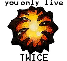 Aegis- You only live twice Photographic Print