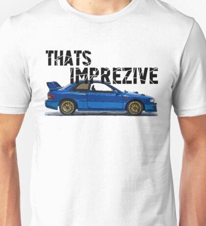That's Imprezive! Subaru Impreza WRX STi 22B Unisex T-Shirt