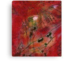 Autumn Secrets Collaboration With Leah Highland Canvas Print