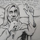 St Iggy Pop by Katherine Griffin