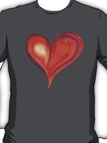 Colorful Abstract Heart T-Shirt