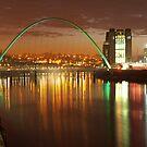 Millenium Bridge by Great North Views